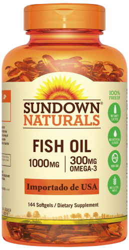 Fish Oil 1000 mg 144 Cápsulas
