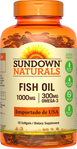 Fish Oil 1000 mg 72 Cápsulas