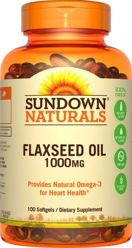 Flaxseed Oil 1000mg Softgels