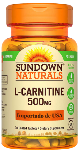 L Carnitine 500 mg Tabletas
