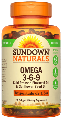 Vegetarian Omega 3-6-9 Softgels